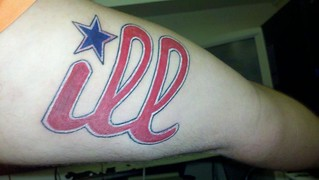 Loewen's Ill tattoo | by PhilliesNation