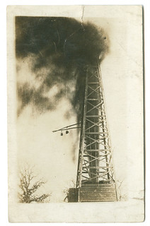 [Oil well, Ranger, Texas] | by SMU Central University Libraries