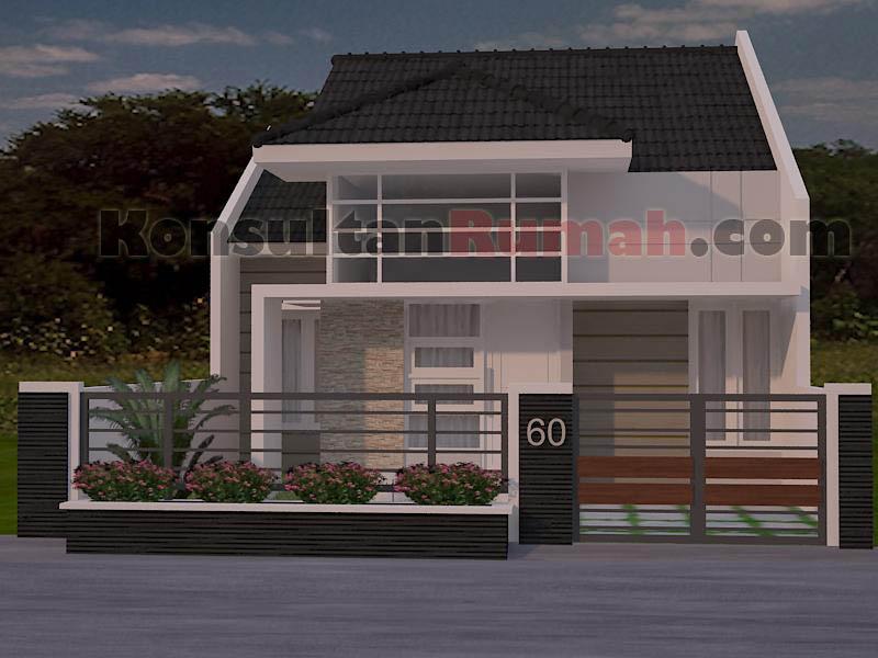 ... Gambar desain model denah interior arsitektur rumah minimalis modern type 60 A_1   by Konsultan Rumah & Gambar desain model denah interior arsitektur rumah minima\u2026   Flickr