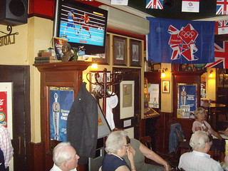 Inside east London Pub - London 2012 Olympics | by bbcworldservice