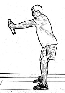 standing plate front raise | by ddonatucci
