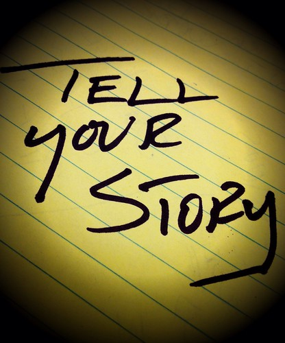 Tell your story | by Damian Gadal