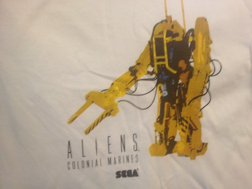 Aliens: Colonial Marines PAX Event Pre-order Shirts | by SEGA of America