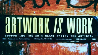 Artwork is work | by Melbourne Streets Avant-garde