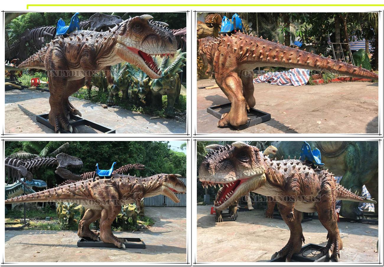 Dinosaur Ride Skin-Grafting Work
