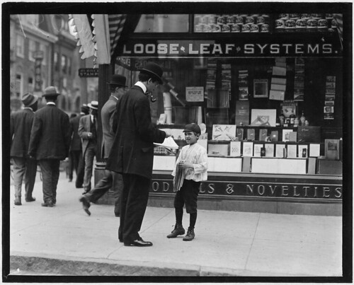 James Loqulla, a newsboy, 12 years old. Selling papers for 3 years, May 1910 | by The U.S. National Archives