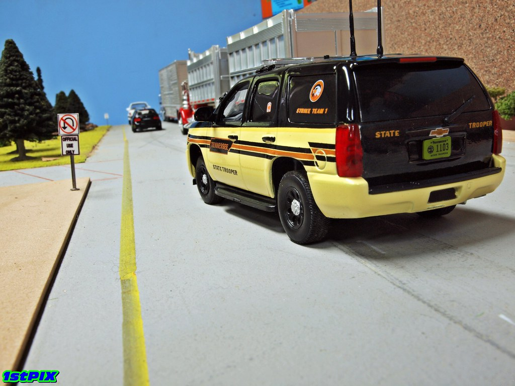 Tennessee Highway Patrol Chevy Tahoe | A THP Chevrolet ...