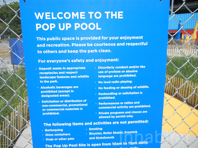 Brooklyn bridge park pop up pool and beach flickr for Pop up garten pool