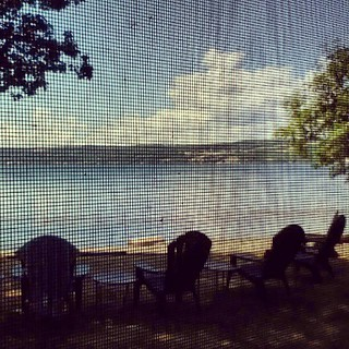 God morning lake (from the best screen porch in the world) | by (afm)