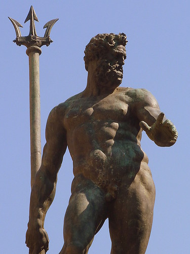 Bologna, statue of Neptune by Giambologna | by Truus, Bob & Jan too!