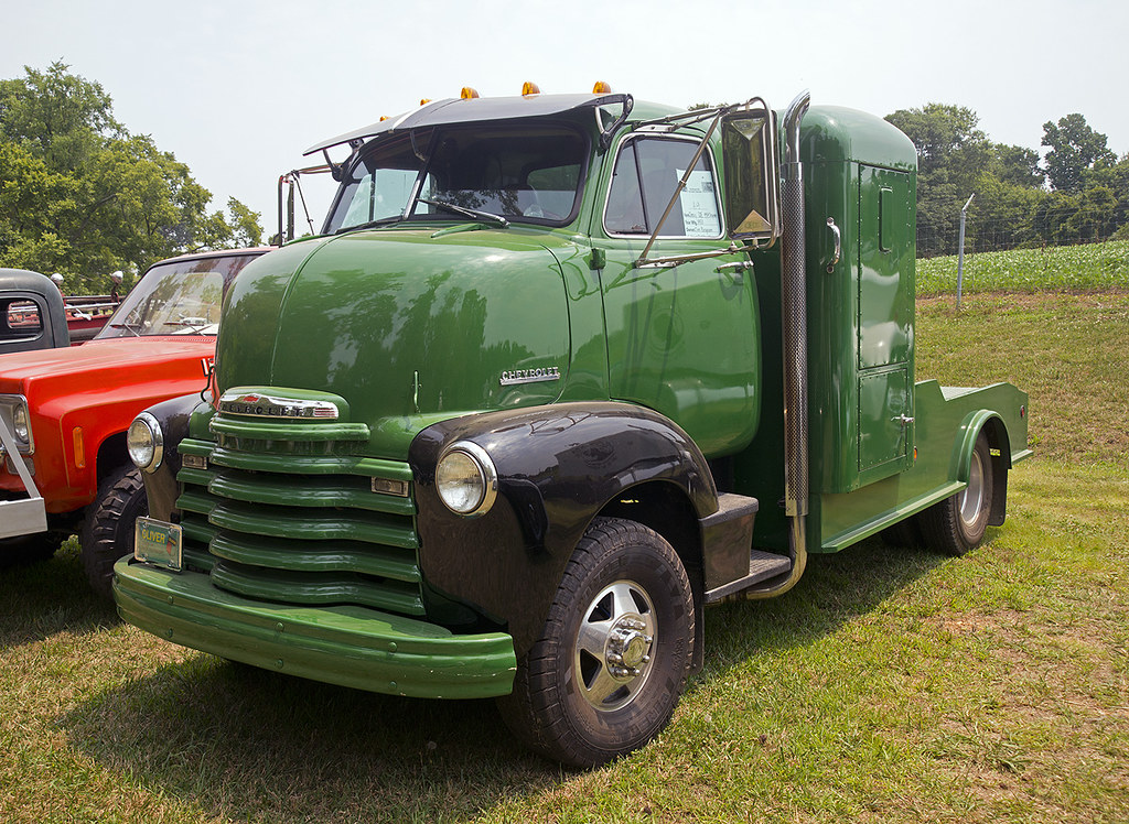1953 Chevy Cabover Custom Truck With A 454 Big Block