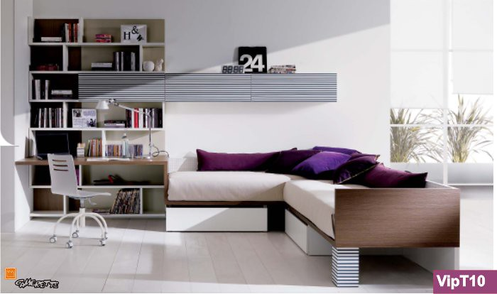 Camerette di design camere moderne per ragazzi dalle - Camere da letto singole moderne ...