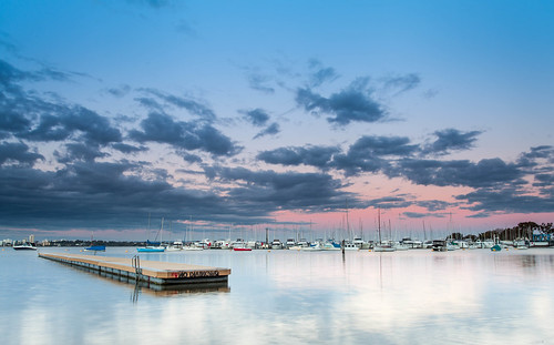 Matilda Bay Sunset Wintertime | by collectionselements