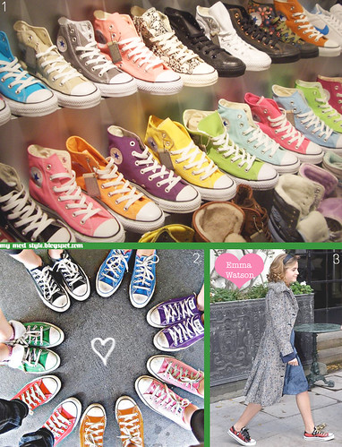 Converse Collage | by Jessie {Creating Happy}