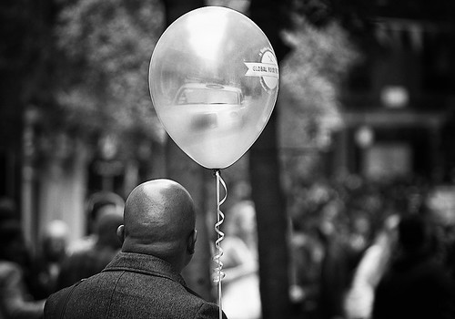 """Nobody can be uncheered with a balloon"" 
