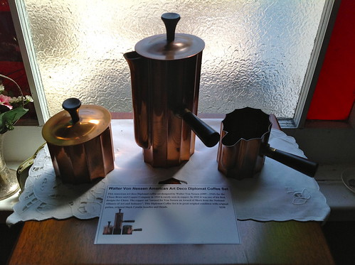 This Old Copper Coffee Set Was For Sale During Our Weekend