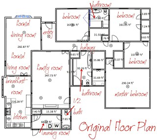 Original Floor Plan | by It's Great To Be Home