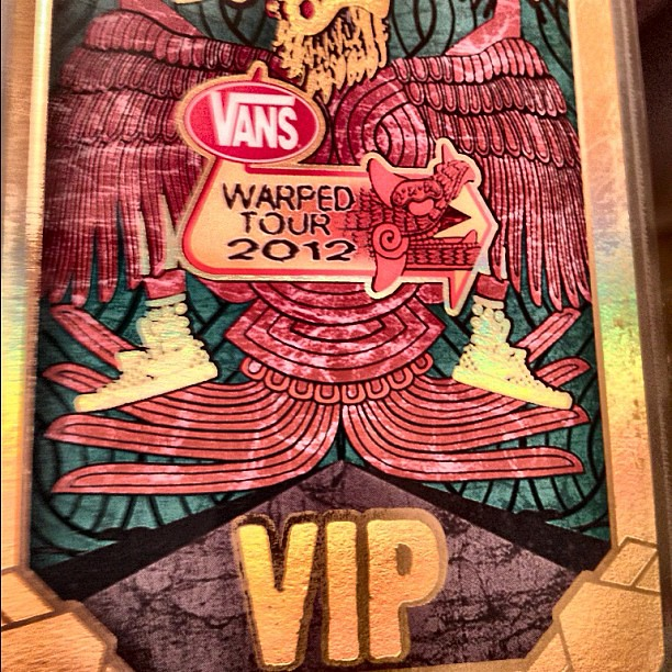 My vip laminate vans warpedtour livemusic warped inst flickr my vip laminate vans warpedtour livemusic warped instamood colorful m4hsunfo