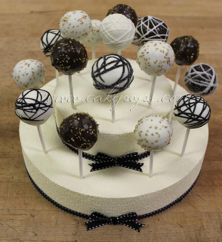charming wedding cake pop display www cakepops com candy s cake