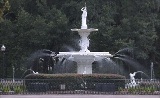 Fountain in Forsyth Park -- Savannah (GA) 2012