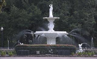 Fountain in Forsyth Park -- Savannah (GA) 2012