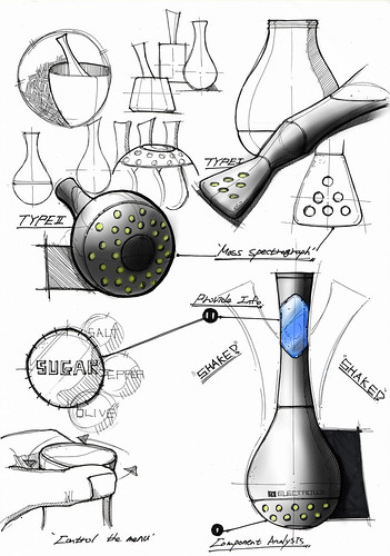Sketch of Ingresure by Jongwoo Choi - Electrolux Design Lab 2012 semi-finalist | by Electrolux Design Lab