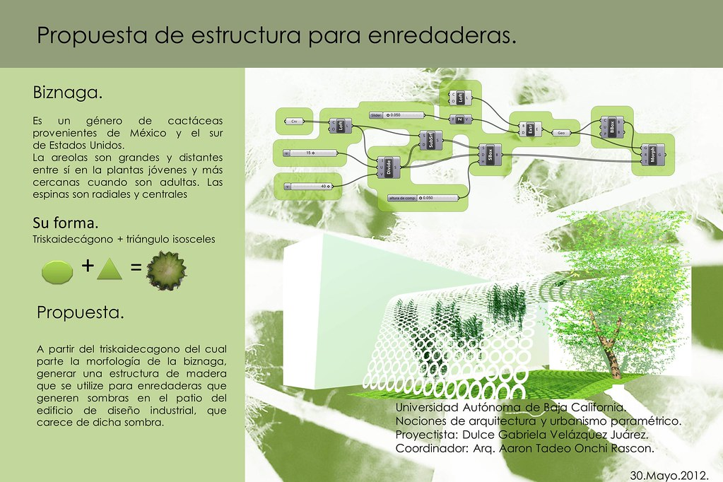 Naup dulce velazquez 2012 1 proyecto final de curso Arquitectura y diseno uabc
