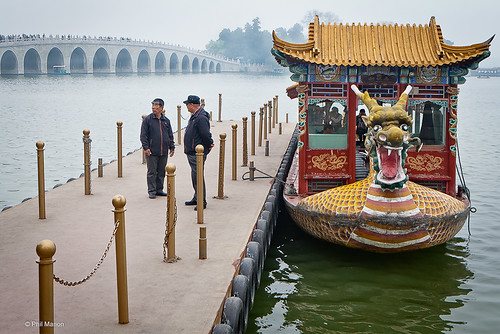 Waiting for the dragon ferry - Summer Palace, Beijing | by Phil Marion (76 million views - thank you all)
