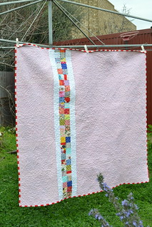 Granny Square Quilt Back | by sew&sews