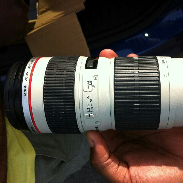 Canon Zoom Lens 70-200 200 Zoom Lens For Canon