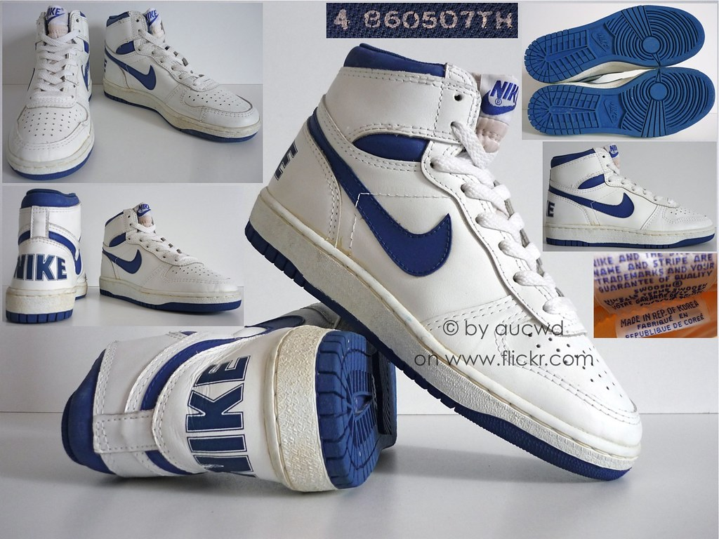Old School High Top Nike Shoes