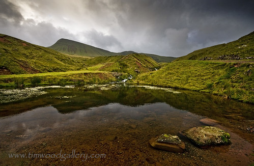 CARMARTHEN FANS POOL REFLECTIONS....BLACK MOUNTAIN. | by IMAGES OF WALES.... (TIMWOOD)