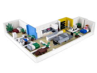 Apartment 3 | by Lego.Skrytsson