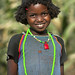 Darashe Tribe girl with traditional hairstyle, Omo Valley, Ethiopia