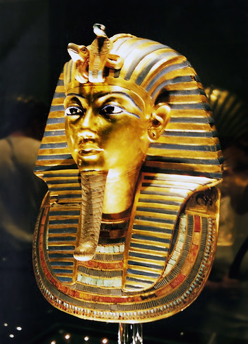 Gold Mask of Tutankhamun | by Akkadium College