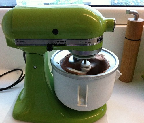 ice cream machine attachment | by tanja@the green mixer