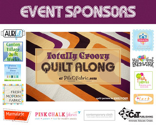 Totally Groovy QAL Event Sponsors | by PileOFabric