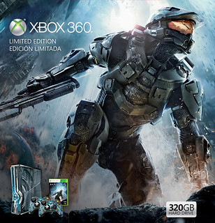"Xbox 360 Limited Edition ""Halo 4"" Console Bundle 