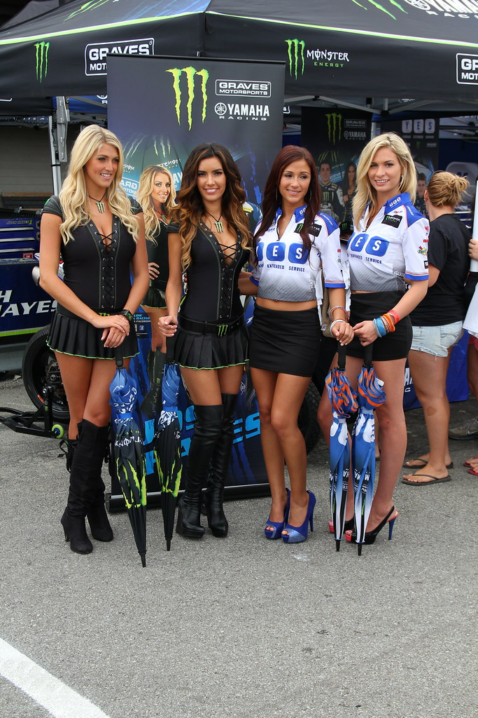 Monster Energy Drink And Yes Grid Girls  Bradi S And -6898