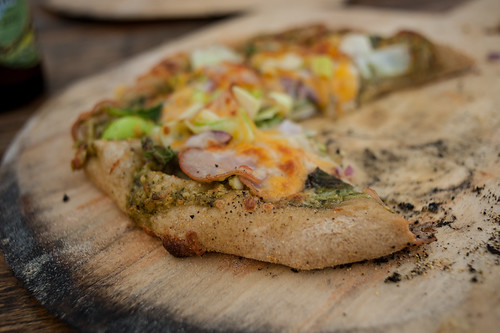 Earthen Oven Baked Pizza @ North House Folk School | by goingslowly