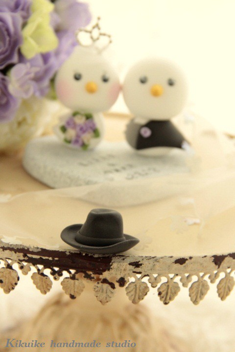 Wedding Cake Topper-love bird with swallow-tailed coat, tu… | Flickr