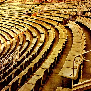 Seating at bull fighting arena in #barcelona (#jh_barc2012) | by joelhughes