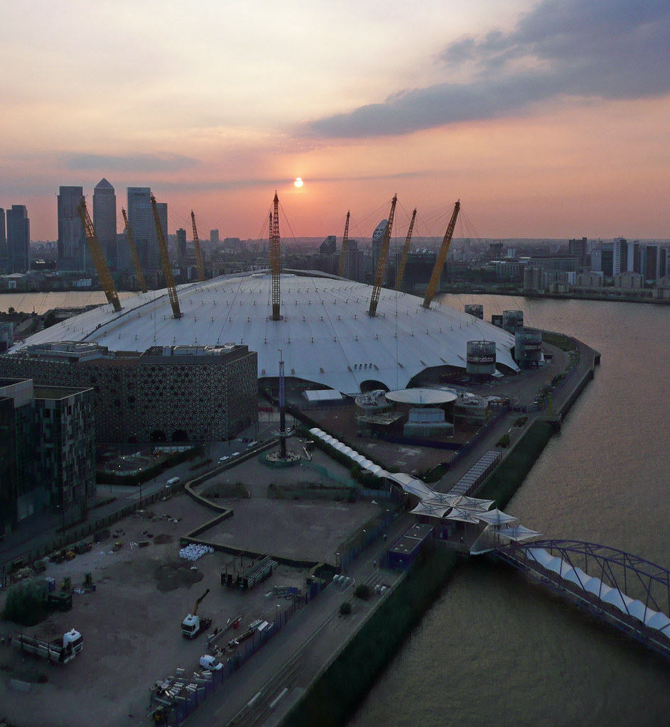 view from cable car o2 arena view from cable car o2. Black Bedroom Furniture Sets. Home Design Ideas