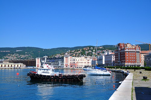 Trieste's seafront and harbour | by AlexTheLazy (on and off)