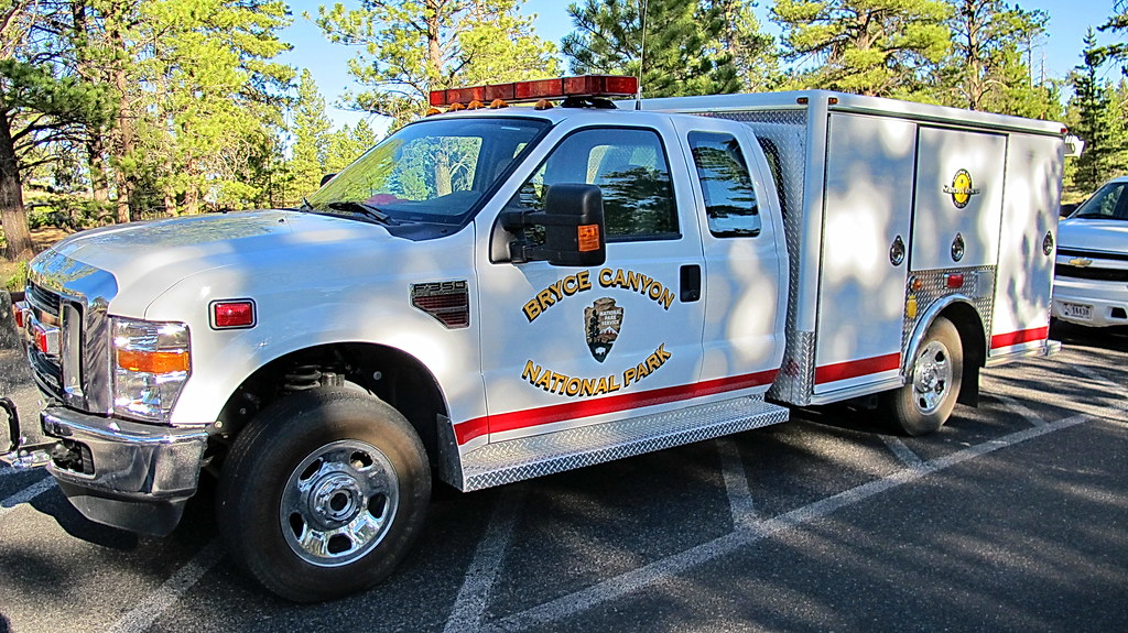 Bryce Canyon National Park Search And Rescue Truck
