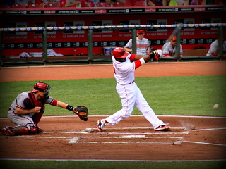 foul ball! - great american ballpark | by xthylacine