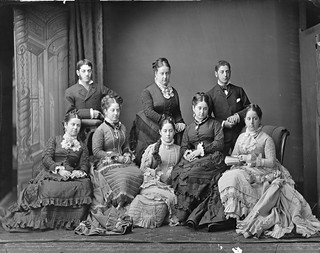 Harris family, Sydney, ca. 1877 / photographer Freeman &Co. | by State Library of New South Wales collection
