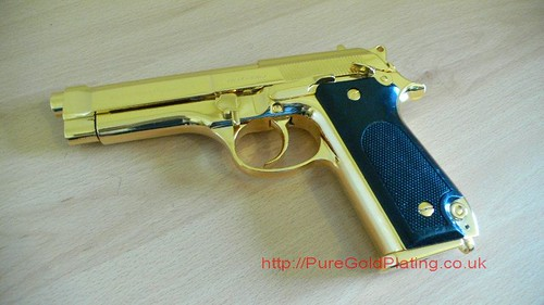 Gold Plated Beretta b | by PureGoldPlating