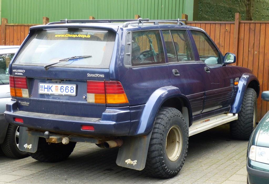 Mercedes Benz Jobs >> Ssangyong Musso - Reykjavik | SStill going sstrong. | Flickr
