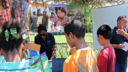 Earth Day Booth at University of Belize in Toledo, UNDP Belize, April 2012, MH | by UNDPBelize